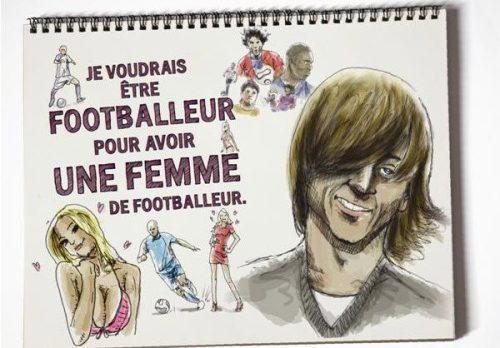 """Publicité L'Etudiant: La """"Femme de footballeur"""""""