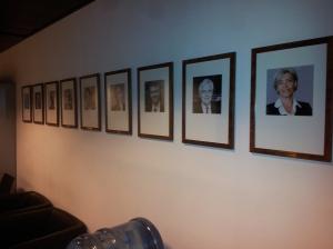 Galerie des présidents de la Cité des Sciences et de l'Industrie