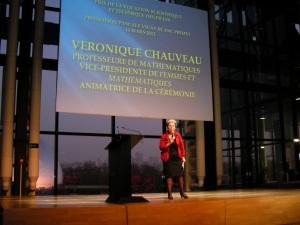 Véronique Chauveau, vide-présidente de Femmes et Mathématiques