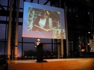 Claudie Haigneré, présidente d'Universcience