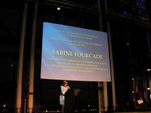 Sabine Fourcade, déléguée aux droits des femmes