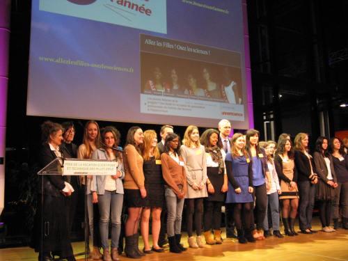 les lauréates 2012 du PVST