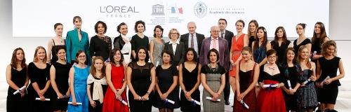 Les 25 boursières françaises L'Oréal Unesco 2013