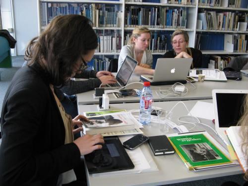Journée Femmes de sciences sur Wikipédia à la bibliothèque d'histoire de sciences