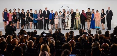 Les lauréates et les boursières du programme L'Oréal Unesco For Women in Science